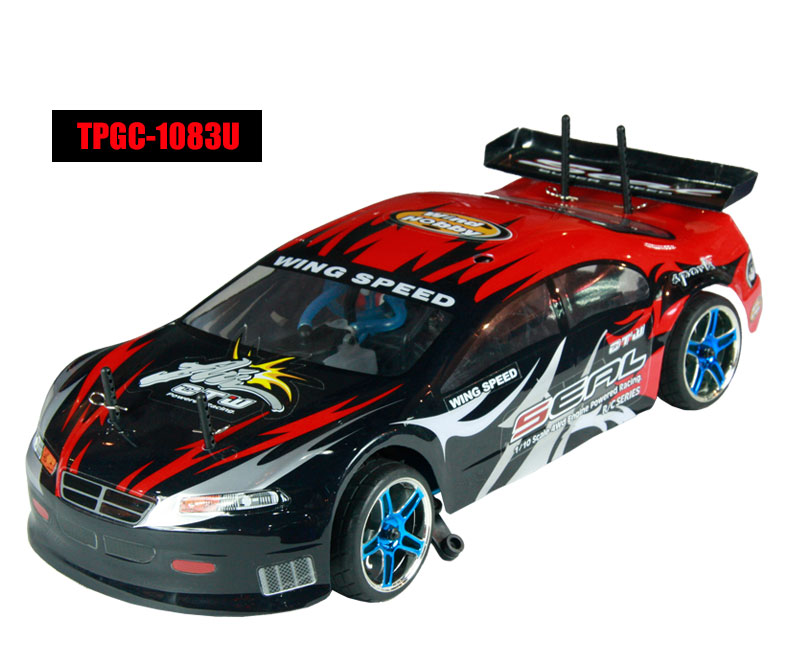 1/10 scale 4WD nitro powered on-road racing car TPGC-1083U,High Quality RC Model Car,1/10 car,on road racing car,petrol rc car,CHINA TOPWIN INDUSTRY CO.,LTD