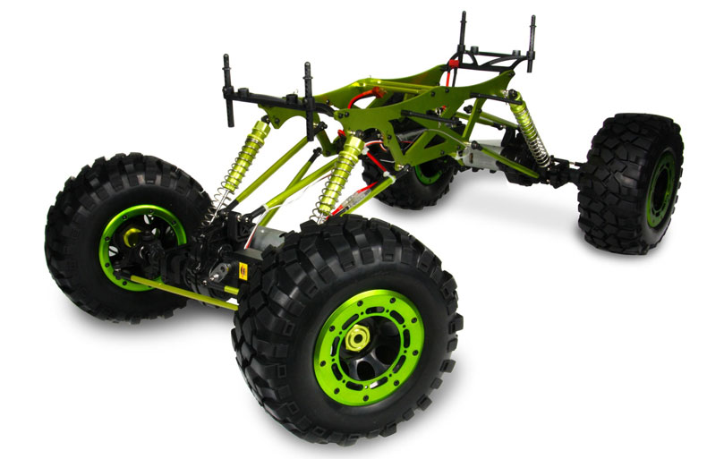 1:5th 4WD Electric Power Off Road RC Rock Crawler Truck TPET-10580
