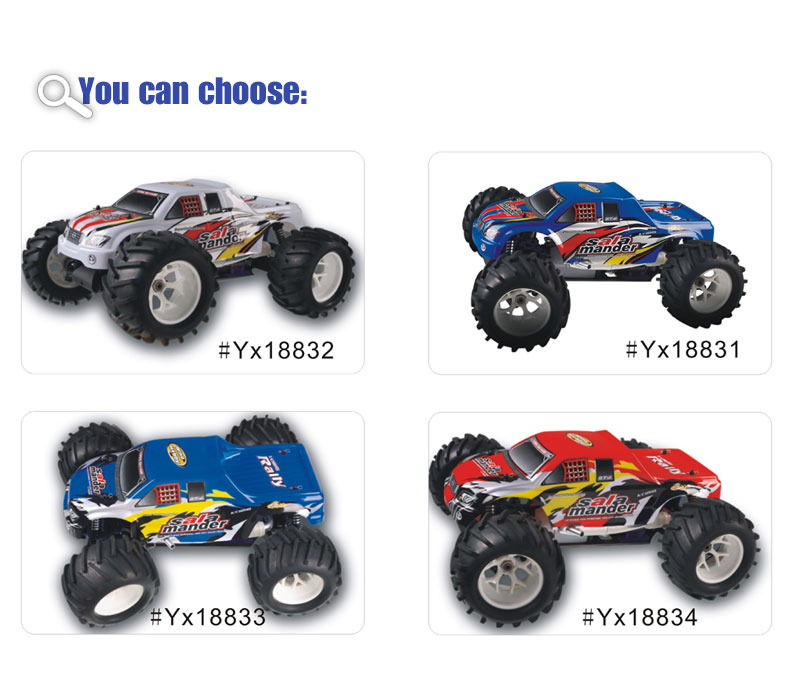 1/8 Scale 4WD nitro gas powered monster truck TPGT-0823,High Quality,nitro rc car,1/8car,gas powered car,rc monster truck,From Supplier or Manufacturer,CHINA TOPWIN INDUSTRY CO.,LTD