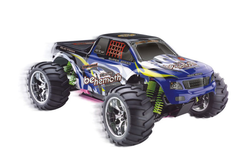 1/10 Scale gas powered 4WD monster truck TPGT-1081,High Quality RC Model Car,1/10 car,monster truck,gas powered rc car,CHINA TOPWIN INDUSTRY CO.,LTD