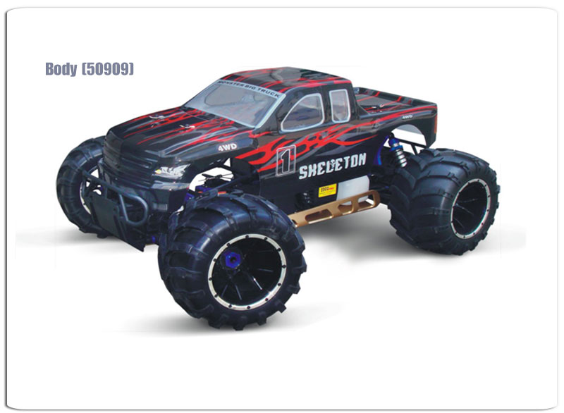1/5 scale 26cc GAS powered off-road Monster Truck TPGT-0550,High Quality,RC Model Car,1/5 car,RC Nitro Car,Monster Truck,gas powered car,off-road Monster Truck,From Supplier or Manufacturer,CHINA TOPWIN INDUSTRY CO.,LTD