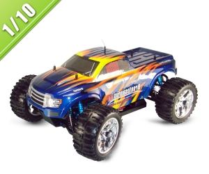 1/10 Scale Electric Powered RC Off Road Monster Truck TPET-1001PRO