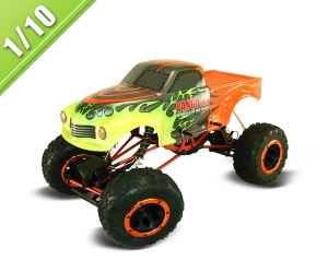 1/10 Scale Electric Powered Off-Road Truck TPET-1080T2