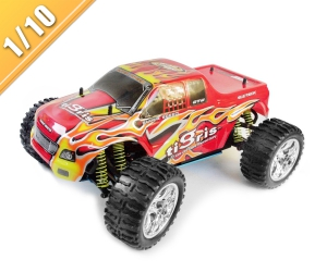 1/10 scale 4WD nitro powered monster truck TPGT-1088U