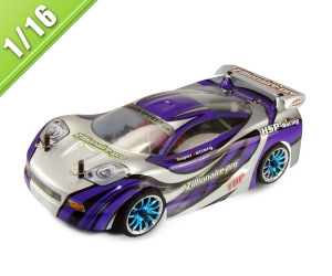1/16 Scale Electric Powered On Road Touring Car