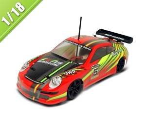 1/18 SCALE 4WD ELECTRIC POWER on-road racing car TPEC-1802