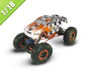 1/18 Scale Electric Powered Off-Road truck TPET-1680