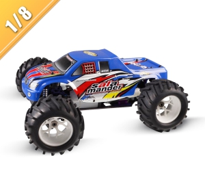 1/8 Scale 4WD nitro gas powered monster truck TPGT-0823