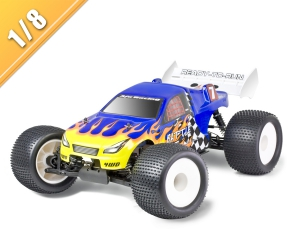 1/8 scale 4WD nitro powered off road truck TPGT-0875