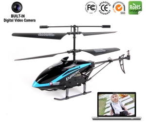 3.5ch IR RC metal helicopter with camera REH54817C