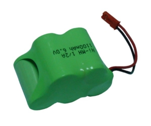Rechargeable battery 6V 1100mA 02155