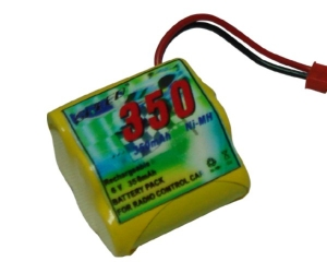 Rechargeable battery 6V 350mA 86097