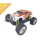 Çin 1/16 Ölçekli RC Gas Powered 4WD Monster Truck TPGT-1651 fabrika