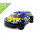 Çin 2.4G 1/18 Ölçekli RC Elektrikli Rally Car Powered TPER-1808 fabrika