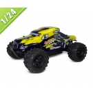 Çin 2.4G 1/24 Ölçekli RC Elektrik Powered Monster Truck TPET-2406 fabrika