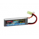 China lithium polymer battery 7.4v 480mAh 20C factory
