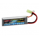 China lithium polymer battery 7.4v 5200mAh 50C factory